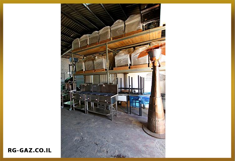 מפעל לייצור מבער גז